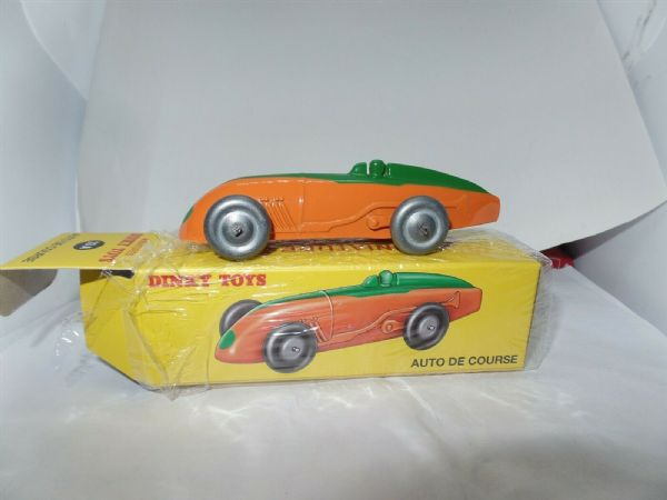 Atlas French Dinky 23A AUTO DE COURSE - ORANGE GREEN
